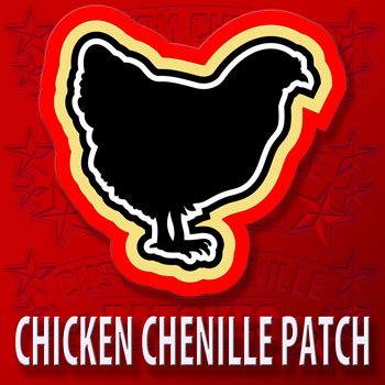 Chicken Animal Patch