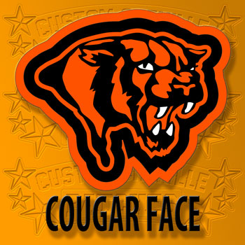 Cougar Face Patch