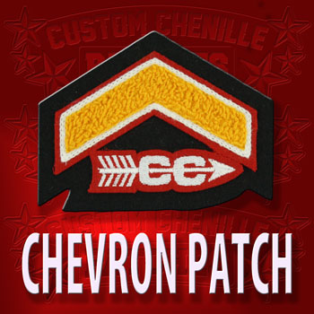 Cross Country Chevron Patch