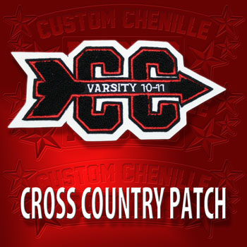 Cross Country Patch