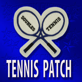 Crossed Racket Patch