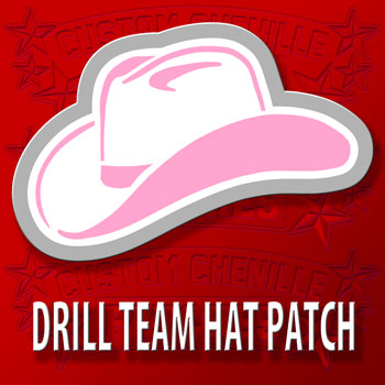 Drill Team Hat Patch