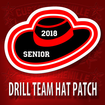 Drill Team Hat Patch ver 2