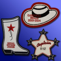 Drill Team Patches