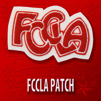 FCCLA Letters Patch