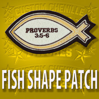 Fish Shape Patch