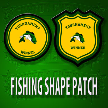 Fishing Shape Patch