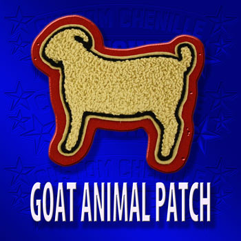 Goat Animal Patch