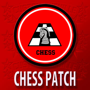 Knight and Board Chess Patch