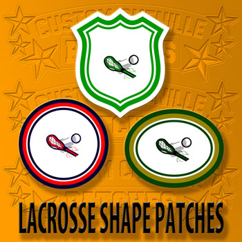Lacrosse Shape Patch