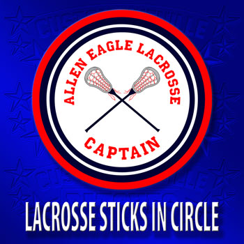 Lacrosse Sticks in Circle