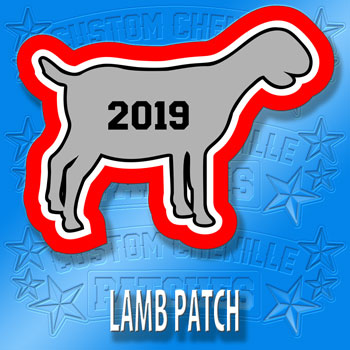 Lamb Animal Patch