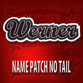 Large Name Patch no Tail