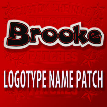 Logotype Name Patch