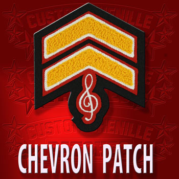 Music Chevron Patch