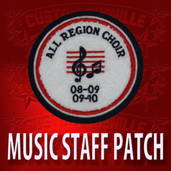 Music Staff Patch
