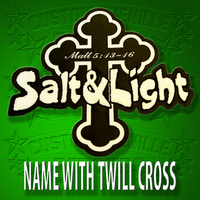 Name with Tackle Twill Cross