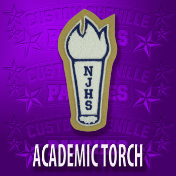 NHS Torch Patch