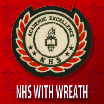 NHS with Wreath