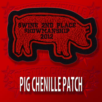 Pig Animal Patch
