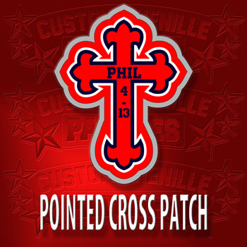Pointed Cross Patch
