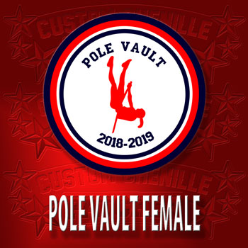 Pole Vault Patch Female