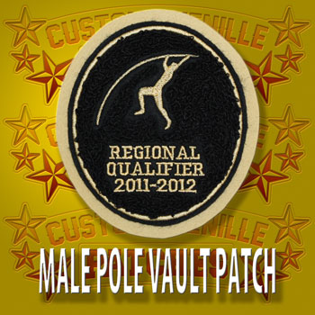 Pole Vault Patch Male