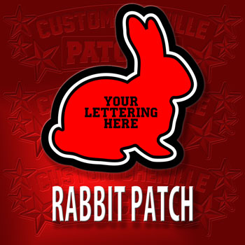 Rabbit Animal Patch