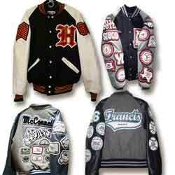 09f1bb423 Customized Varsity Letterman Jackets Made by Delong, the oldest name ...