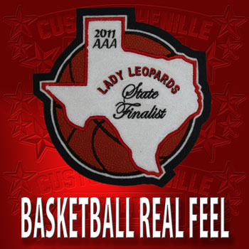 Real Feel Basketball State Patch
