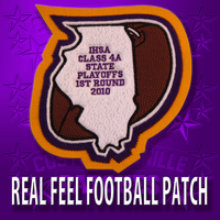Real Feel Football Patch