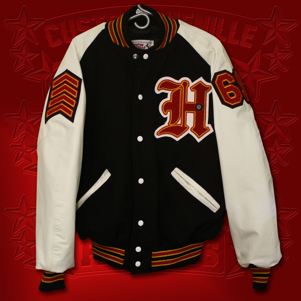 Rookie Letterman Jacket Package from CustomChenilllePatches.com