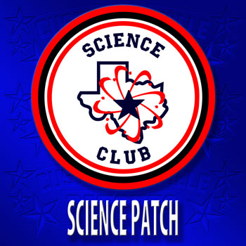 Science Club Patch