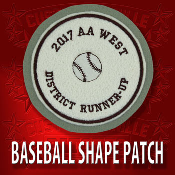 Shape Baseball Patch