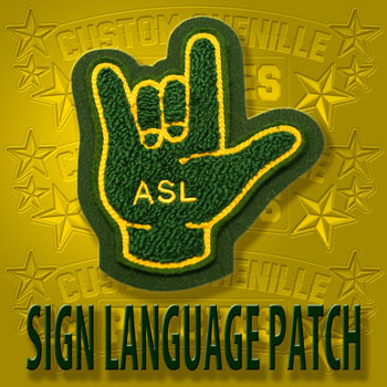 Sign Language Patch
