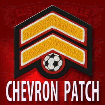 Soccer Chevron Patch