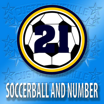 Soccerball with Number