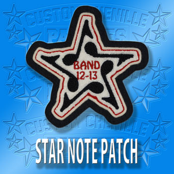 Star Note Patch