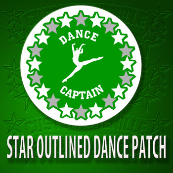 Star Outlined Dance Patch