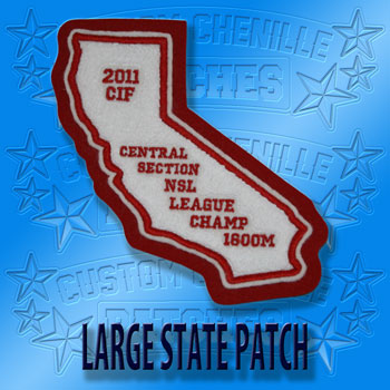 State Patch Large Size
