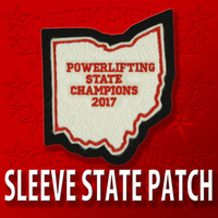 State Patch Sleeve Size