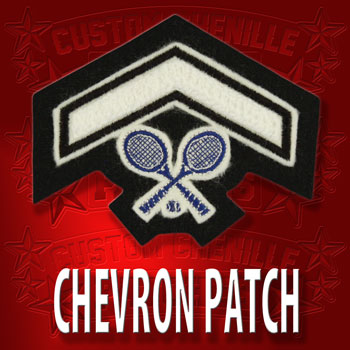 Tennis Chevron Patch