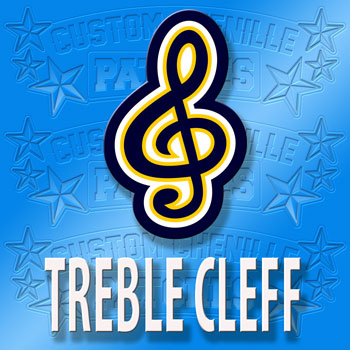Treble Cleff Patch