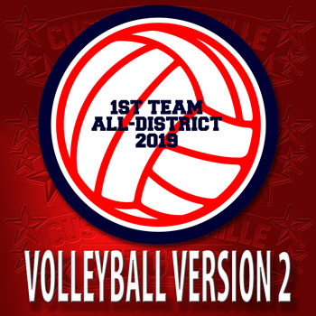Version2 Volleyball Patch