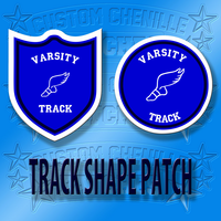 Wing Foot Shape Patch