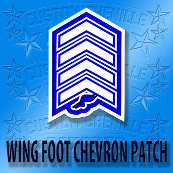 WIngfoot Chevron Patch