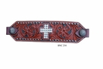 Bar H Crystal Cross Bronc Noseband