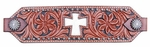 Bar H Inlay Cross Bronc Noseband