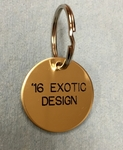 Brass Round Tags