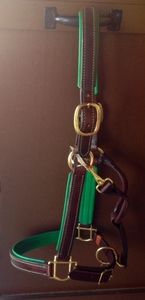 Custom Padded Leather Halter